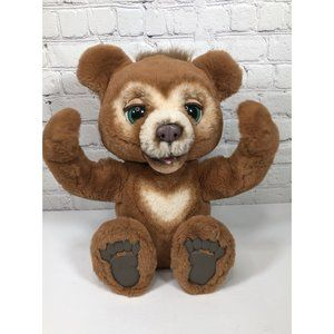 FurReal  Cubby The Curious Bear Interactive Plush
